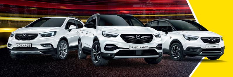 Gamma SUV Opel Torino