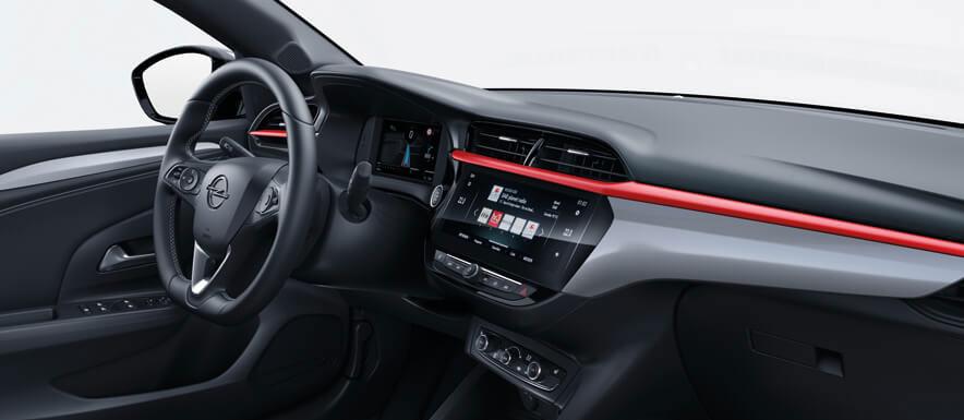 Interni nuova Opel Corsa