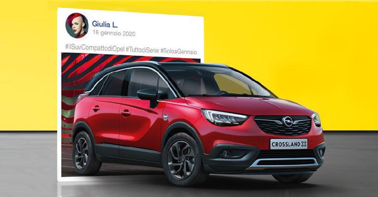 Nuovo Opel Crossland X Torino